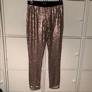 Nwot Xhilaration Sequins Pants Size S